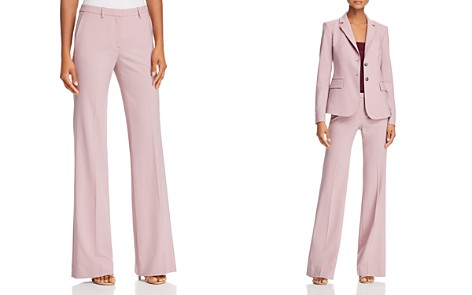 Theory Demitria Classic Pants - Bloomingdale's_2