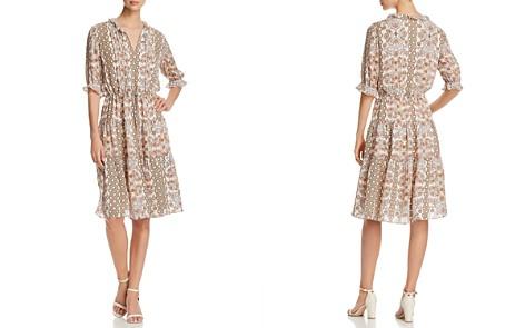 Tory Burch Serena Printed Silk Dress - Bloomingdale's_2