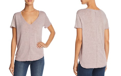 Project Social T Wear Ever Raw-Edge Tee - Bloomingdale's_2