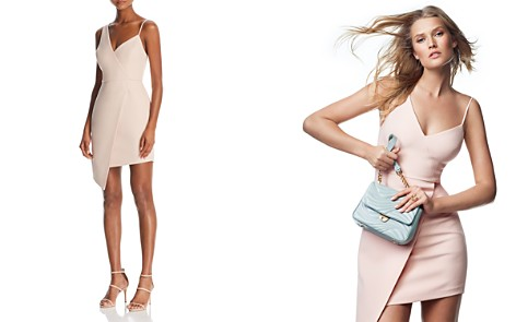 BCBGMAXAZRIA Asymmetric Cocktail Dress - 100% Exclusive - Bloomingdale's_2