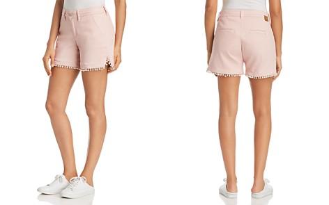 JAG Jeans Cadet Pom-Pom-Trim Shorts - Bloomingdale's_2