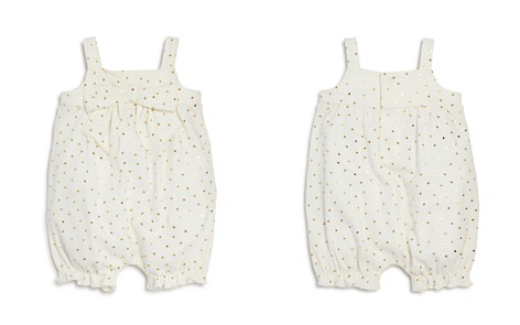Bloomie's Girls' Heart-Print Romper with Bow, Baby - 100% Exclusive - Bloomingdale's_2