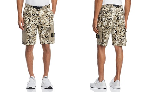 Stone Island Camouflage Cargo Shorts - Bloomingdale's_2