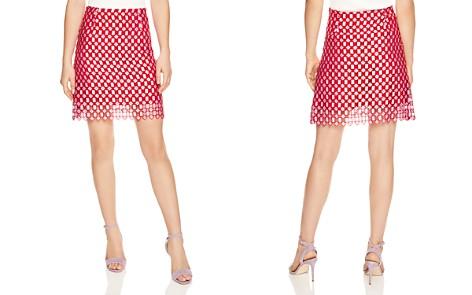 Sandro Vivot Geometric Openwork Lace Skirt - Bloomingdale's_2