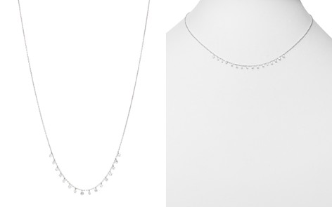 "AeroDiamonds 18K White Gold Sweet Sixteen Diamond Necklace, 16"" - Bloomingdale's_2"
