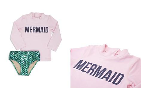 Shade Critters Girls' Mermaid Magic Rash Guard Swimsuit Set - Little Kid - Bloomingdale's_2