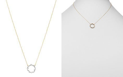 "Adina Reyter 14K Yellow Gold Scattered Diamond Circle Necklace, 17"" - Bloomingdale's_2"