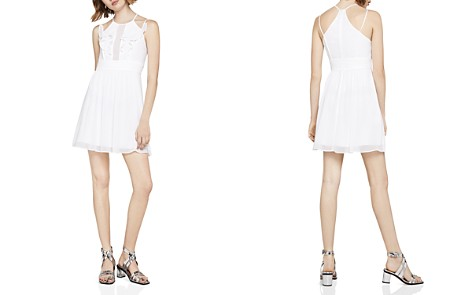 BCBGeneration Ruffled Pintuck Fit-and-Flare Dress - Bloomingdale's_2