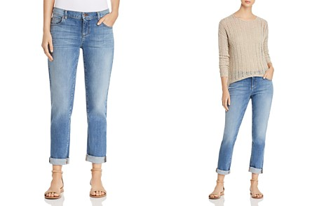Eileen Fisher Cropped Boyfriend Jeans in Sky Blue - Bloomingdale's_2