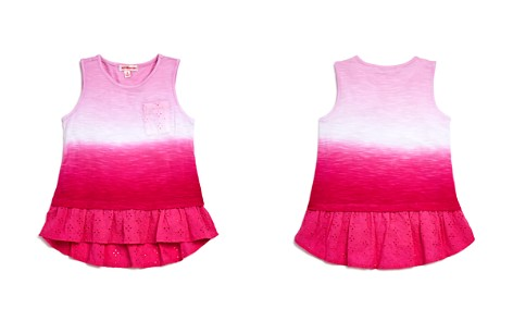 Design History Girls' Ruffled Ombré Tank - Little Kid - Bloomingdale's_2