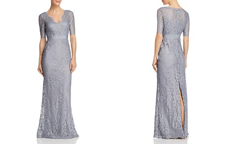 Adrianna Papell Floral Lace Gown - Bloomingdale's_2