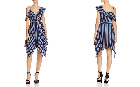 Do And Be Handkerchief Hem Striped Dress Bloomingdale S 2