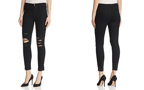 J Brand Alana High Rise Crop Skinny Jeans in Deviant Vanity - Bloomingdale's_2