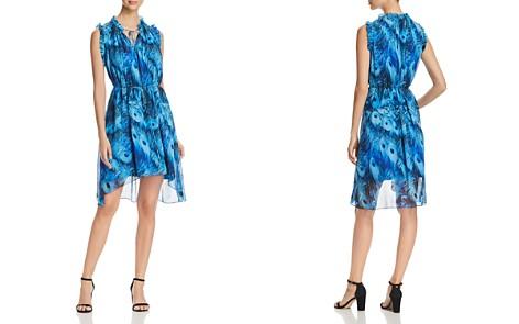 Elie Tahari Balere Feather-Print Silk Dress - Bloomingdale's_2
