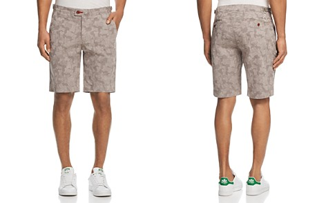 Psycho Bunny Mako Camouflage Regular Fit Shorts - Bloomingdale's_2