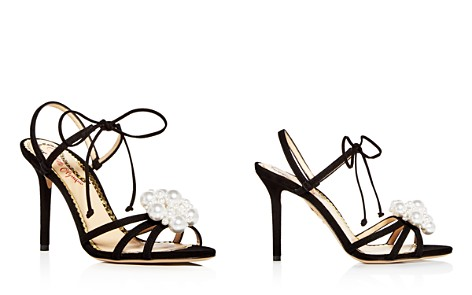 Charlotte Olympia Women's Tallulah Embellished Suede Ankle Tie High Heel Sandals - Bloomingdale's_2