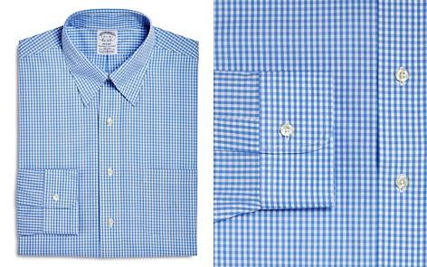Brooks Brothers Gingham Regular Fit Dress Shirt - Bloomingdale's_2