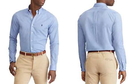 Polo Ralph Lauren Poplin Classic Fit Button-Down Shirt - Bloomingdale's_2