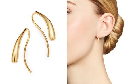 Bloomingdale's Teardrop Threader Earrings in 14K Yellow Gold - 100% Exclusive _2