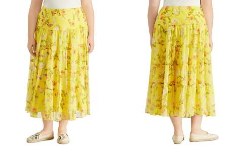 Lauren Ralph Lauren Plus Tiered Ruffle Maxi Skirt - Bloomingdale's_2