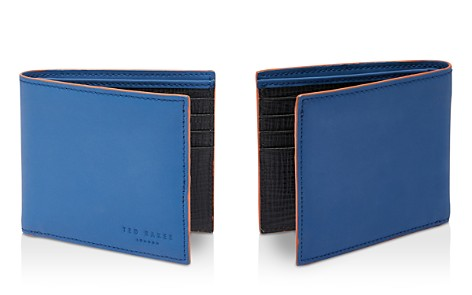 Ted Baker Saharas Rubber Leather Wallet - Bloomingdale's_2