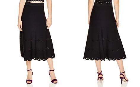 Sandro Rosy Eyelet-Detail Midi Skirt - Bloomingdale's_2