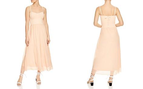 Sandro Roxette Bustier Midi Dress - Bloomingdale's_2