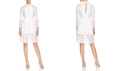 Sandro Enja Lace-Detail Dress - Bloomingdale's_2