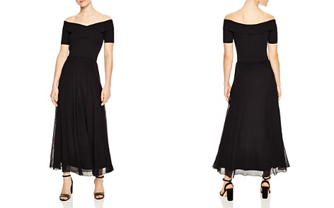 Sandro Sallie Off-the-Shoulder Maxi Dress - Bloomingdale's_2