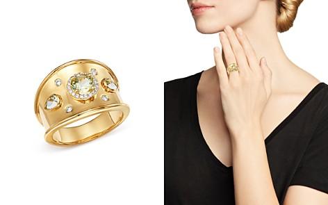Kiki McDonough 18K Yellow Gold Jemima Lemon Quartz & Diamond Ring - Bloomingdale's_2