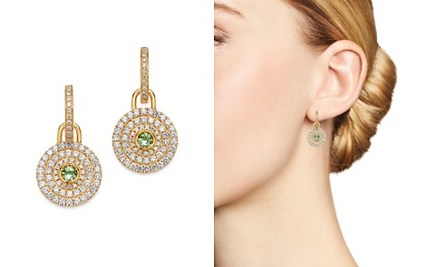 Kiki McDonough 18K Yellow Gold Fantasy Green Amethyst & Diamond Drop Earrings - Bloomingdale's_2