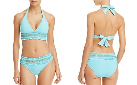 Bleu Rod Beattie Smock It to Ya Halter Bikini Top & Hipster Bikini Bottom - Bloomingdale's_2