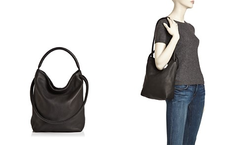 Baggu Soft Leather Shoulder Bag - Bloomingdale's_2