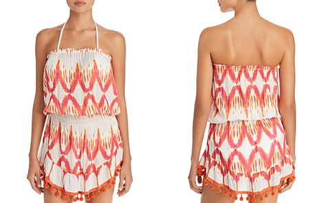 Ramy Brook Marcie Printed Dress Swim Cover-Up - Bloomingdale's_2