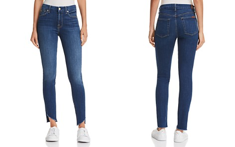 7 For All Mankind Skinny Jeans in Reia - Bloomingdale's_2