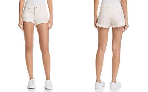 Pistola Gigi Distressed Cutoff Denim Shorts in Rose - Bloomingdale's_2