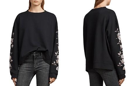 ALLSAINTS Lo Magnolia Oversized Sweatshirt - Bloomingdale's_2
