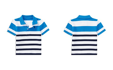 Ralph Lauren Boys' Mesh Contrast Striped Polo - Baby - Bloomingdale's_2