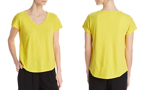 Eileen Fisher Petites V-Neck Tee - Bloomingdale's_2