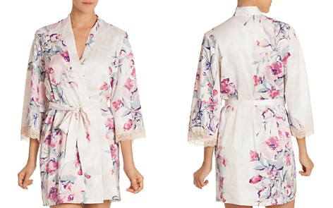 In Bloom by Jonquil Satin Wrap Robe - Bloomingdale's_2