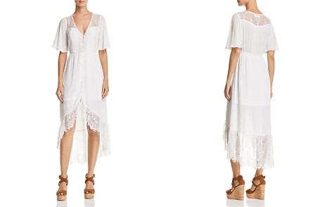 Band of Gypsies Button-Down Maxi Dress - Bloomingdale's_2