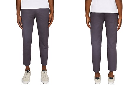 Ted Baker Cliftro Piece-Dyed Regular Fit Trousers - Bloomingdale's_2