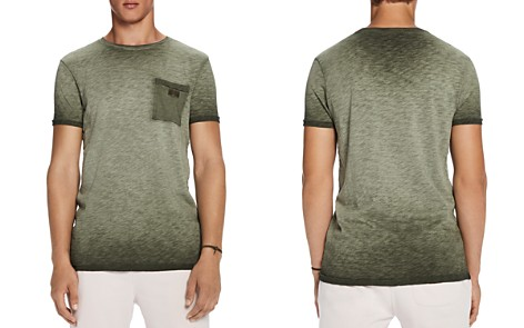 Scotch & Soda Oil Wash Pocket Crewneck Tee - Bloomingdale's_2