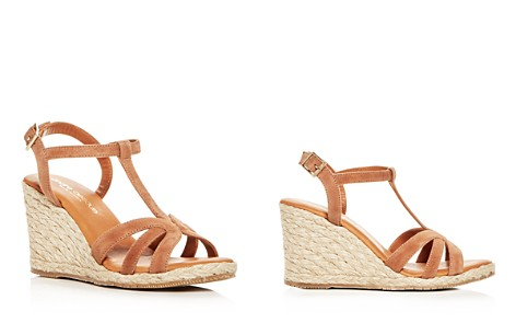 Andre Assous Women's Madina Suede T-Strap Espadrille Wedge Sandals - Bloomingdale's_2