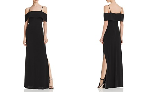 Laundry by Shelli Segal Cold-Shoulder Gown - Bloomingdale's_2