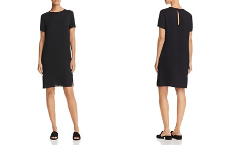 Theory Silk Tee Dress - Bloomingdale's_2