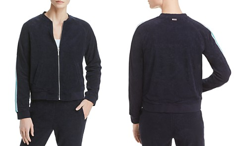 Marc New York Performance Stripe-Trimmed Terry Bomber Jacket - Bloomingdale's_2