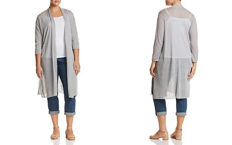 NIC+ZOE Plus Open-Front Duster Cardigan - 100% Exclusive - Bloomingdale's_2