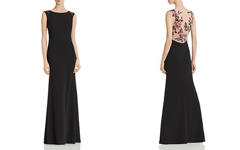 Aidan Mattox Embellished-Back Gown - Bloomingdale's_2