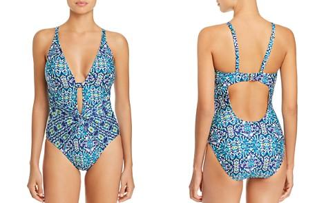 La Blanca Tuvalu Twist Detail One Piece Swimsuit - Bloomingdale's_2